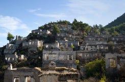 Εγκαταλειμμένο χωριό Kayakoy, Τουρκία Στοκ φωτογραφίες με δικαίωμα ελεύθερης χρήσης