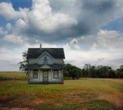 εγκαταλειμμένο farmhouse αγρο&tau Στοκ Εικόνα