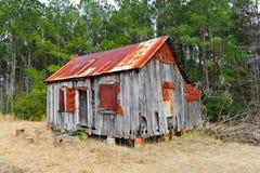 εγκαταλειμμένο farmhouse Στοκ φωτογραφία με δικαίωμα ελεύθερης χρήσης