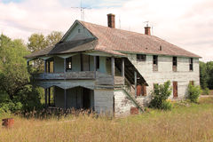 εγκαταλειμμένο farmhouse Στοκ εικόνες με δικαίωμα ελεύθερης χρήσης