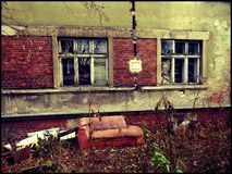 Εγκαταλειμμένο meth εργαστήριο στοκ εικόνες