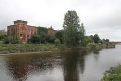 Εγκαταλειμμένο Rosefield, μύλοι Dumfries Σκωτία UK στοκ εικόνα