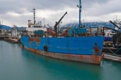 εγκαταλελειμμένο σκάφ&omic Στοκ φωτογραφία με δικαίωμα ελεύθερης χρήσης