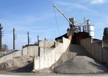 Εγκαταστάσεις αμμοχάλικου Στοκ Φωτογραφίες