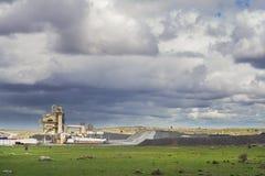 Εγκαταστάσεις για την παραγωγή της πέτρας στοκ εικόνα