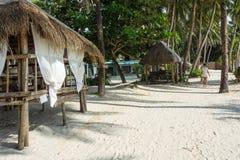 Εγκαταστάσεις ελεύθερου χρόνου στο ξενοδοχείο SPA, Boracay, Φιλιππίνες Στοκ Εικόνες