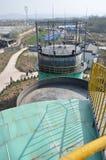 Εγκαταστάσεις 4 εφαρμοσμένης μηχανικής βιοαερίων Στοκ Εικόνα