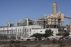 Εγκαταστάσεις ηλεκτρικής δύναμης του Tucson Στοκ εικόνα με δικαίωμα ελεύθερης χρήσης