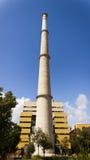 Εγκαταστάσεις θερμικής παραγωγής ενέργειας Foix Cubelles, Βαρκελώνη, Ισπανία Στοκ Εικόνα