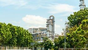Εγκαταστάσεις καθαρισμού πετρελαίου Στοκ Εικόνα