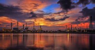 εγκαταστάσεις καθαρισμού φυτών πετρελαίου βιομηχανίας στοκ εικόνες