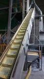 Εγκαταστάσεις καταστημάτων για την παραγωγή των σβόλων από τη βιομάζα Βιολογικά καύσιμα στοκ εικόνες