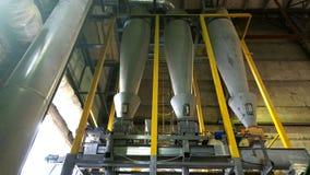 Εγκαταστάσεις καταστημάτων για την παραγωγή των σβόλων από τη βιομάζα Βιολογικά καύσιμα στοκ εικόνα με δικαίωμα ελεύθερης χρήσης