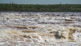 Εγκαταστάσεις νερό-δύναμης απόθεμα βίντεο