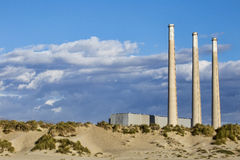 Εγκαταστάσεις παραγωγής ενέργειας κόλπων Morro Στοκ Φωτογραφία