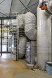 Εγκαταστάσεις παραγωγής ενέργειας με τη συνδυασμένη παραγωγή της θερμότητας και της δύναμης Στοκ εικόνες με δικαίωμα ελεύθερης χρήσης