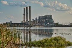 Εγκαταστάσεις παραγωγής ενέργειας του Τέξας στοκ φωτογραφίες με δικαίωμα ελεύθερης χρήσης