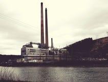 Εγκαταστάσεις παραγωγής ενέργειας του shawville Στοκ φωτογραφία με δικαίωμα ελεύθερης χρήσης