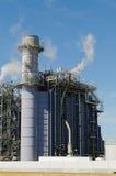 Εγκαταστάσεις παραγωγής ενέργειας φυσικού αερίου Στοκ Εικόνες