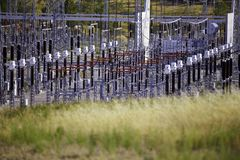 Εγκαταστάσεις παραγωγής ενέργειας Στοκ φωτογραφίες με δικαίωμα ελεύθερης χρήσης