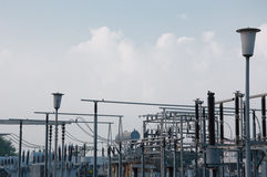 Εγκαταστάσεις παραγωγής ενέργειας Στοκ Εικόνες