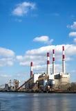 Εγκαταστάσεις παραγωγής ενέργειας Στοκ Φωτογραφία