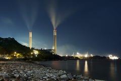 Εγκαταστάσεις παραγωγής ενέργειας Στοκ εικόνες με δικαίωμα ελεύθερης χρήσης