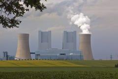Εγκαταστάσεις παραγωγής ενέργειας Στοκ φωτογραφία με δικαίωμα ελεύθερης χρήσης