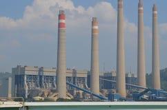 Εγκαταστάσεις παραγωγής ενέργειας Suralaya Στοκ Εικόνα