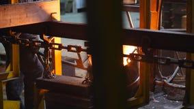 Εγκαταστάσεις Παραγωγή εφαρμοσμένης μηχανικής απόθεμα βίντεο