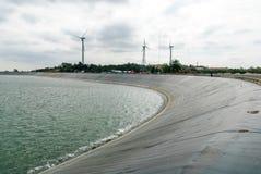 Εγκαταστάσεις υδρενέργειας Lam TA Khong, Nakhon Ratchasima, Ταϊλάνδη Στοκ εικόνα με δικαίωμα ελεύθερης χρήσης