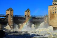 Εγκαταστάσεις υδρο παραγωγής ενέργειας Στοκ Φωτογραφίες