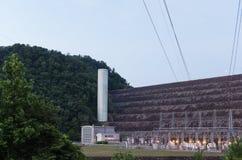 Εγκαταστάσεις υδρο παραγωγής ενέργειας Στοκ εικόνες με δικαίωμα ελεύθερης χρήσης
