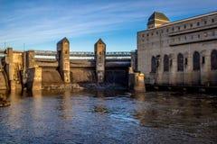 Εγκαταστάσεις υδρο παραγωγής ενέργειας Στοκ φωτογραφία με δικαίωμα ελεύθερης χρήσης