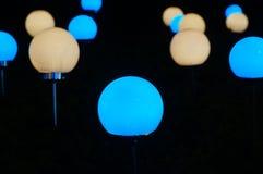 Εγκαταστάσεις φωτισμού χρώματος Στοκ εικόνες με δικαίωμα ελεύθερης χρήσης