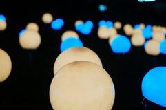 Εγκαταστάσεις φωτισμού χρώματος Στοκ Εικόνες