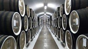 Εγκαταστάσεις Massandra κελαριών κρασιού σε Yalta στοκ φωτογραφία