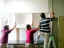Εγκαταστήστε ένα γραφείο στοκ εικόνα με δικαίωμα ελεύθερης χρήσης