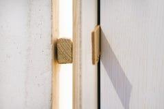Εγκαταστήστε την πόρτα στοκ εικόνες με δικαίωμα ελεύθερης χρήσης