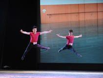 Εγκατα:λείπω-βασικό εκπαιδευτικό μάθημα χορού Στοκ εικόνες με δικαίωμα ελεύθερης χρήσης