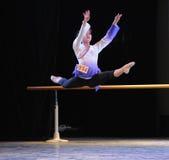Εγκατα:λείπω-βασικό εκπαιδευτικό μάθημα χορού Στοκ εικόνα με δικαίωμα ελεύθερης χρήσης
