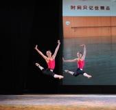 Εγκατα:λείπω-βασικό εκπαιδευτικό μάθημα χορού Στοκ Φωτογραφίες