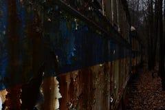 Εγκαταλείψτε το νεκροταφείο καροτσακιών Στοκ Εικόνα