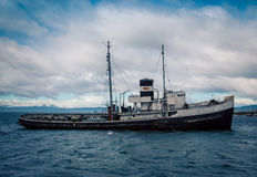 Εγκαταλείψτε το ushuaia σκαφών Στοκ φωτογραφία με δικαίωμα ελεύθερης χρήσης