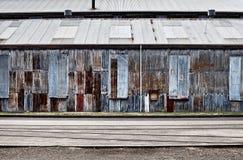 Εγκαταλειμμένα βιομηχανικά κτήρια Στοκ Φωτογραφίες