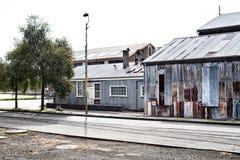 Εγκαταλειμμένα βιομηχανικά κτήρια Στοκ Εικόνες