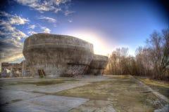 Εγκαταλειμμένα σιλό εργοστασίων Στοκ φωτογραφία με δικαίωμα ελεύθερης χρήσης