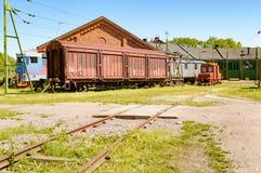 Εγκαταλειμμένα τραίνα Στοκ Εικόνες