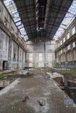 Εγκαταλειμμένες εγκαταστάσεις Στοκ εικόνα με δικαίωμα ελεύθερης χρήσης