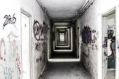 Εγκαταλειμμένες θέσεις - βέλη Στοκ Εικόνα
